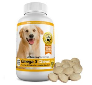 Amazing Nutritionals Omega Fish Oil for Dogs