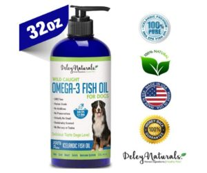 Deley Naturals Wild Caught Fish Oil for Dogs