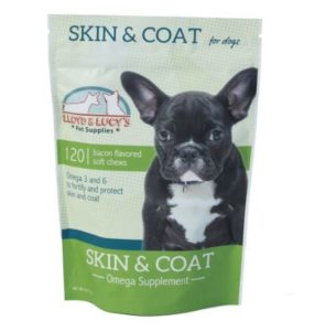 Loyd and Lucies Skin & Coat Omega Supplement for Dogs