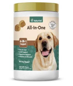 NaturVet – All-in-One Support For Dogs